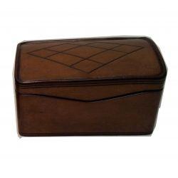 Boîte Coffret tout cuir