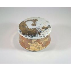 petite boite ronde metaux precieux