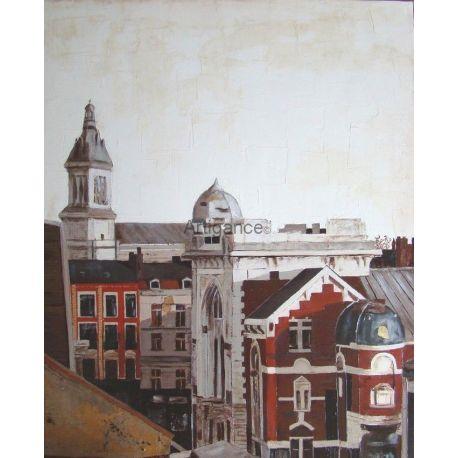 tableau Toits de Lille