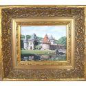 """Tableau """"Chateau de Lieu-Dieu"""""""