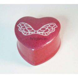boite coeur papillon