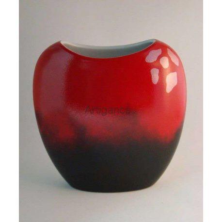 vase rouge cendre