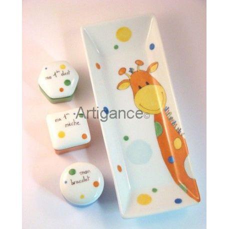 coffret naissance girafe