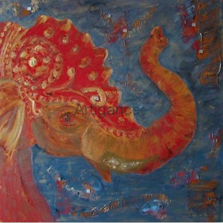 tableau Eléphant indien