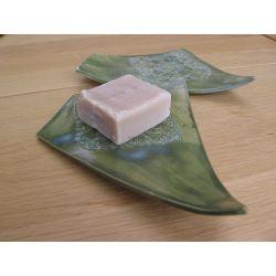 Porte-savon vert de gris