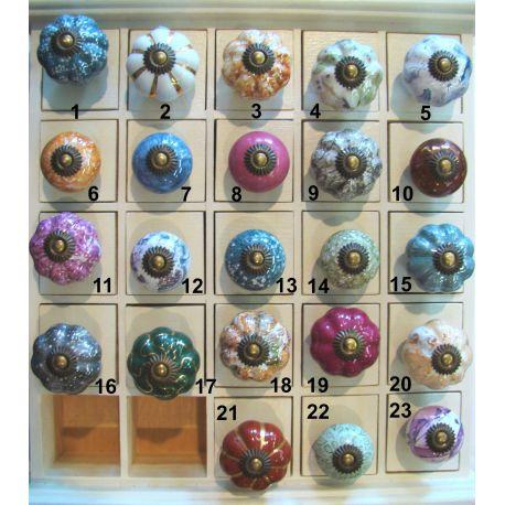 Bouton de tiroir (colori au choix)