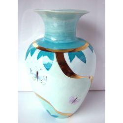 Vase Vert d'eau - collection Champêtre