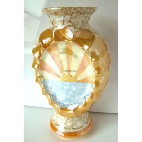 Vase Soleil - collection Abstraction
