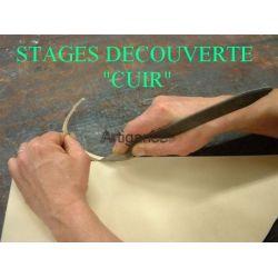 """Chèque Cadeau """"STAGE Créations en cuir"""""""
