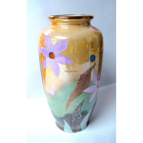 Vase haut - collection Floral