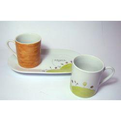 """Duo tasses """"Petit Monde Coloré"""""""