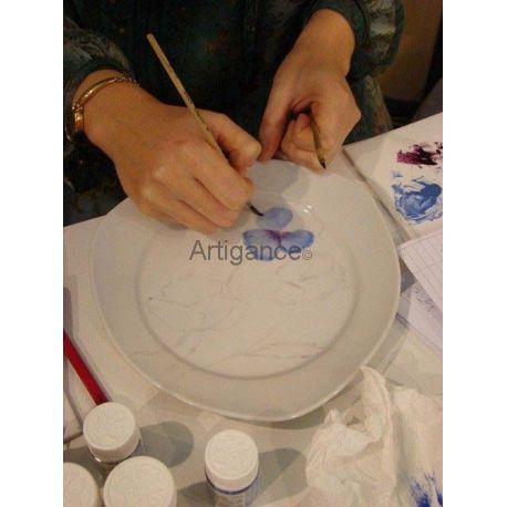"""Chèque Cadeau """"COURS Peinture sur Porcelaine"""""""