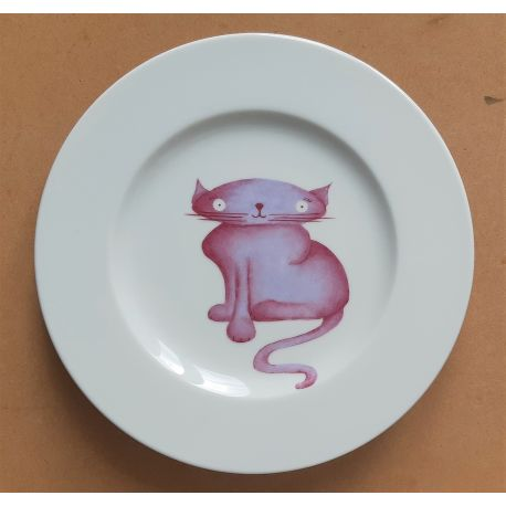 Assiette Chat - Collection Z'animaux