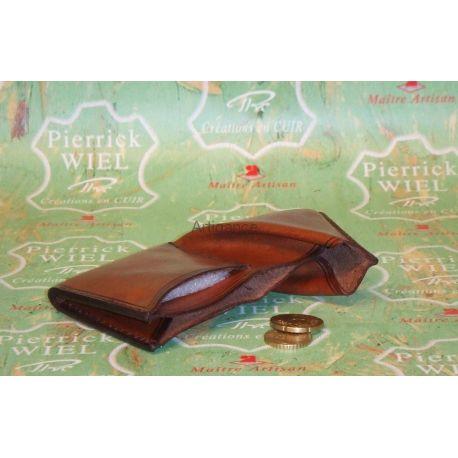 porte monnaie cuir