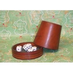 poker menteur en cuir