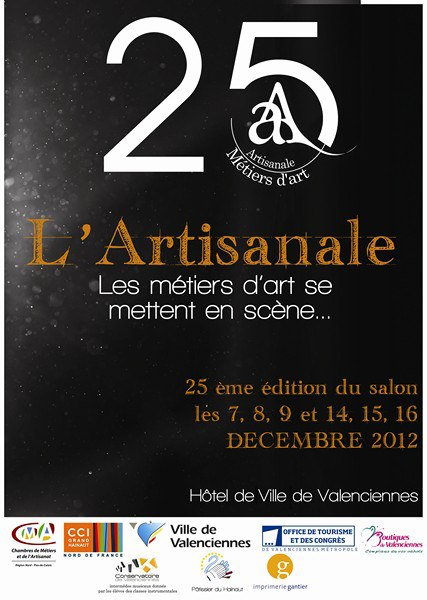 Actualit s salons des metiers d 39 art et expositions de for Salon de the valenciennes