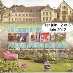 A la rencontre de l'art Abbaye de Vaucelles 2012