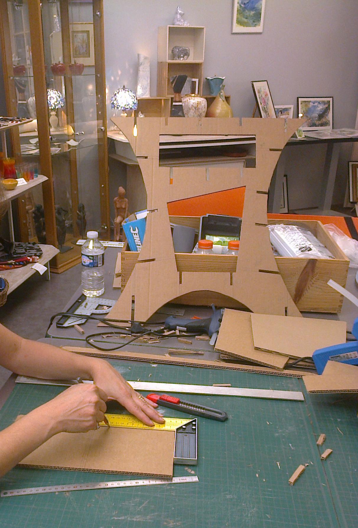 atelier carton individuel