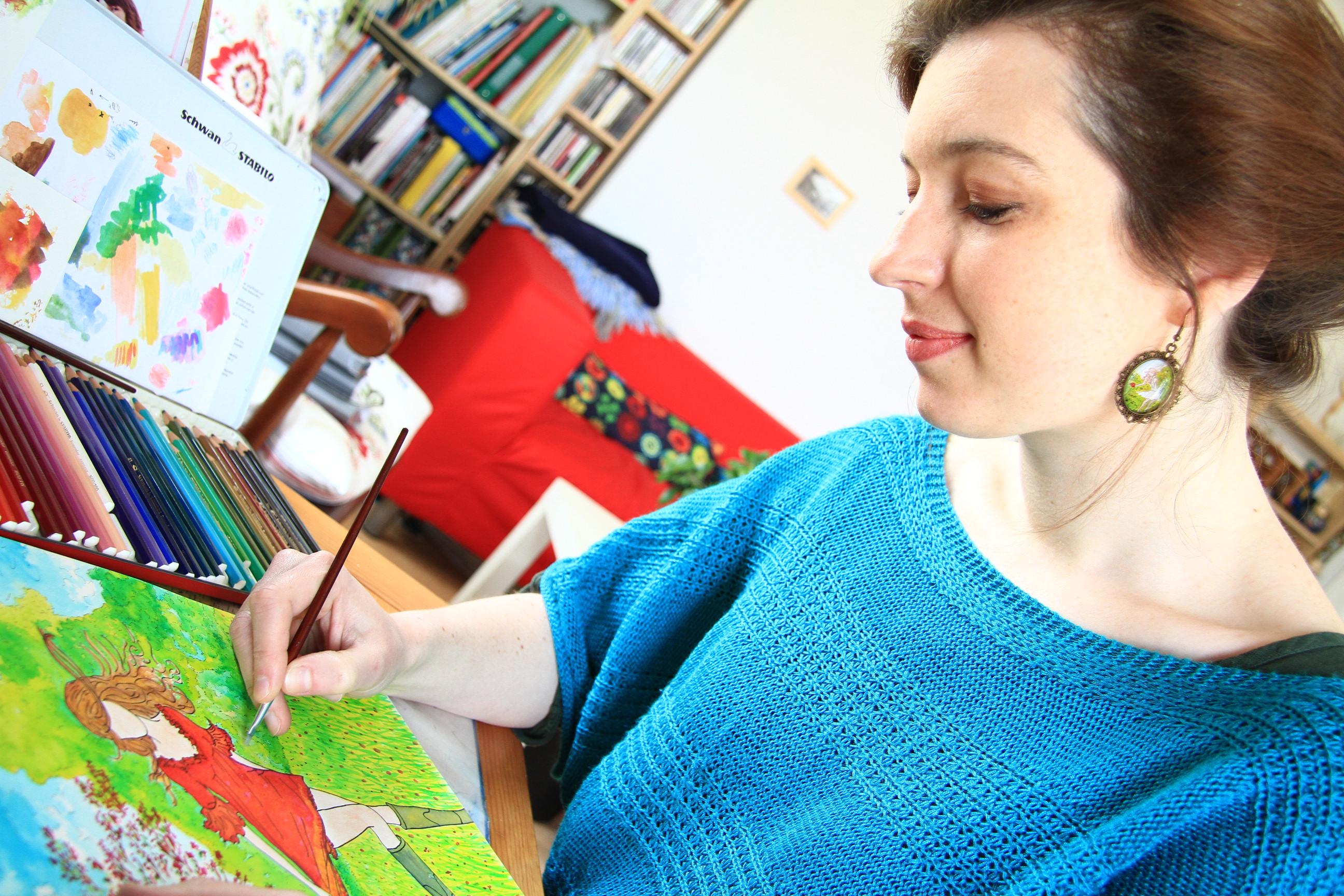 Florence Detrez - Les petites flâneuses