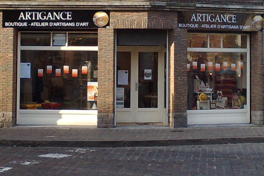 boutique - atelier ARTIGANCE à Lille