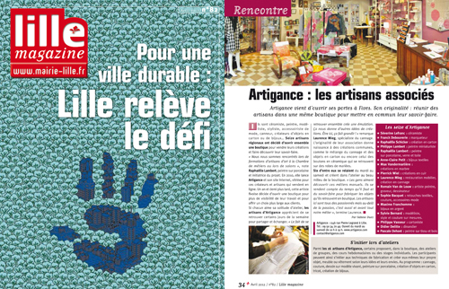 lille magazine n°82 avril 2012 - Atigance
